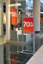 a store offering up to 70% discounts on selected styles